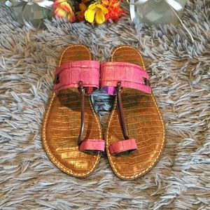Sam Edelman Toe Ring Sandals Size 8.5M